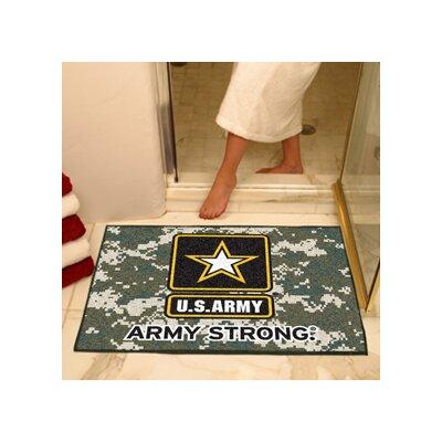 MIL U.S. Army Doormat Rug Size: 210 x 38.5