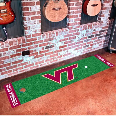 NCAA Virginia Tech Putting Green Doormat