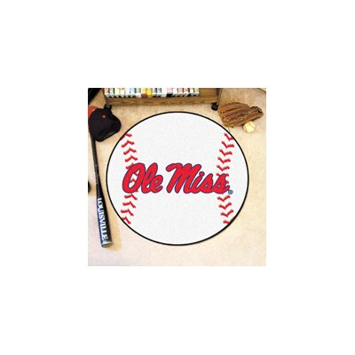 NCAA University of Mississippi (Ole Miss) Baseball Mat