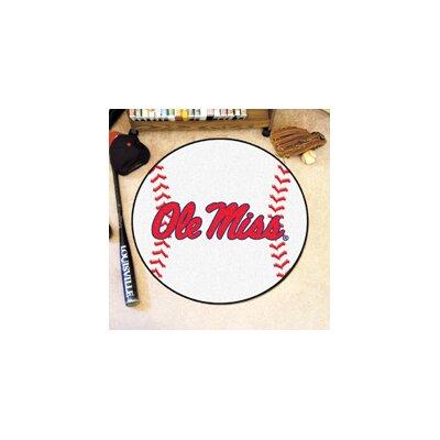 NCAA University of Mississippi (Ole Miss) Baseball Mat