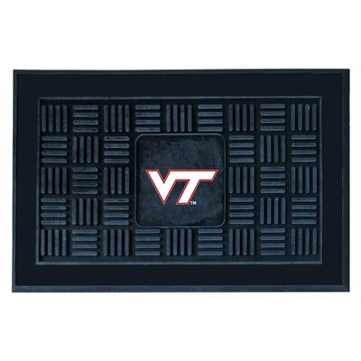NCAA Virginia Tech Medallion Door Mat