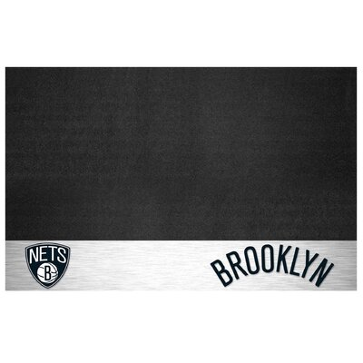 NBA Grill Utility Mat NBA Team: Brooklyn Nets