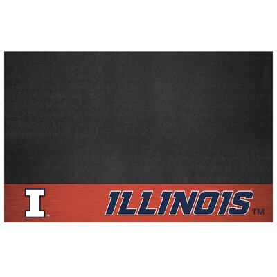 NCAA Grill Utility Mat NCAA Team: University of Illinois