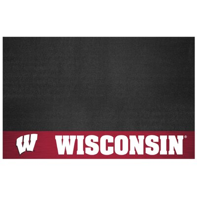 NCAA Grill Utility Mat NCAA Team: University of Wisconsin