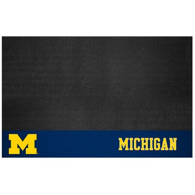 NCAA Grill Utility Mat NCAA Team: University of Michigan