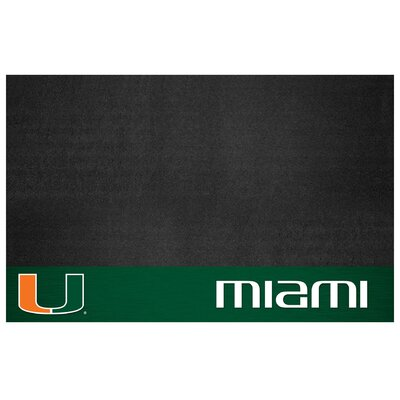 NCAA Grill Utility Mat NCAA Team: University of Miami