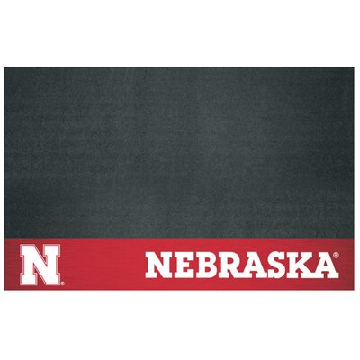 NCAA Grill Utility Mat NCAA Team: University of Nebraska