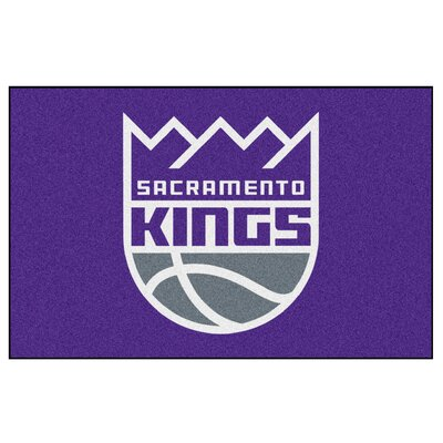 NBA - Sacramento Kings Doormat Rug Size: 5 x 8