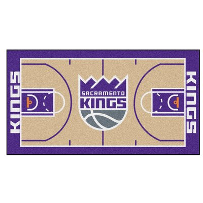 NBA - Sacramento Kings NBA Court Runner Doormat Mat Size: 25.5 x 46