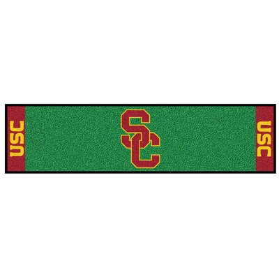 NCAA University of Southern California Putting Green Doormat