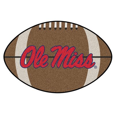 NCAA University of Mississippi (Ole Miss) Football Mat