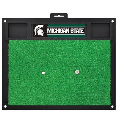 NCAA Michigan State University Golf Hitting Mat