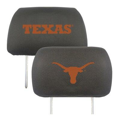 NCAA Head Rest Cover NCAA Team: Texas