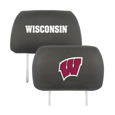NCAA Head Rest Cover NCAA Team: Wisconsin