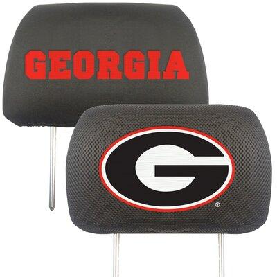 NCAA Head Rest Cover NCAA Team: Georgia