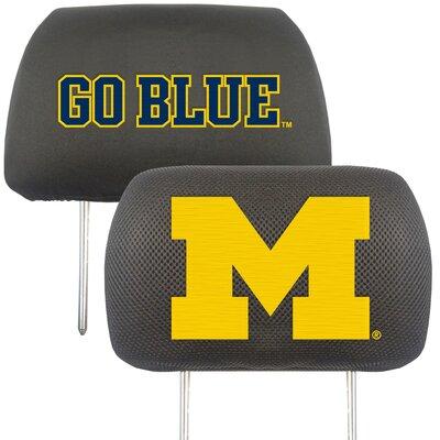 NCAA Head Rest Cover NCAA Team: Michigan