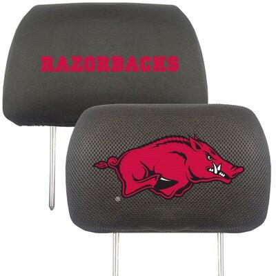 NCAA Head Rest Cover NCAA Team: Arkansas