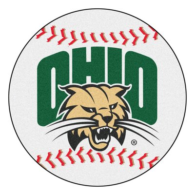 NCAA Ohio University Baseball Mat