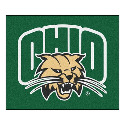 NCAA Ohio University Indoor/Outdoor Area Rug