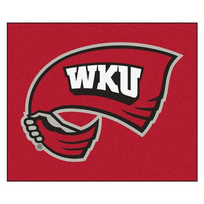 NCAA Western Kentucky University Indoor/Outdoor Area Rug