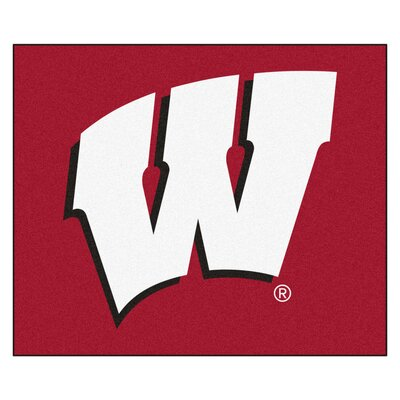 NCAA University of Wisconsin Indoor/Outdoor Area Rug