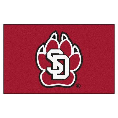 Collegiate NCAA University of South Dakota Doormat
