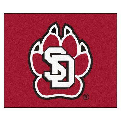 NCAA University of South Dakota Indoor/Outdoor Area Rug