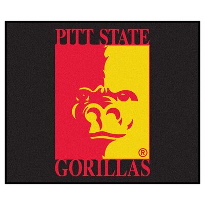 Collegiate Pittsburg State University Tailgater Outdoor Area Rug