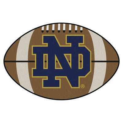 NCAA Notre Dame Football Doormat