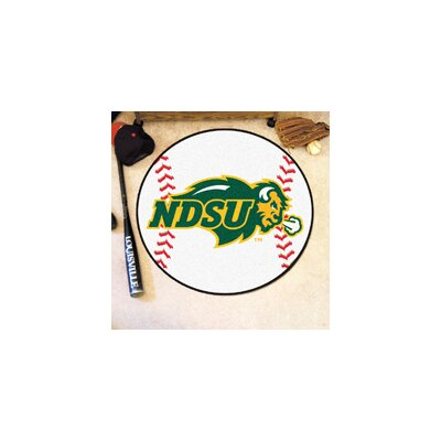 NCAA North Dakota State University Baseball Mat