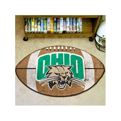 NCAA Ohio University Football Doormat
