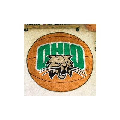 NCAA Ohio University Basketball Mat