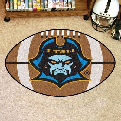 NCAA East Tennessee State University Football Mat