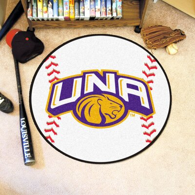 NCAA University of North Alabama Baseball Mat