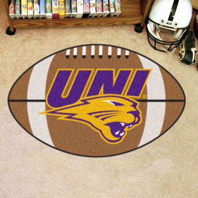 NCAA University of Northern Iowa Football Mat