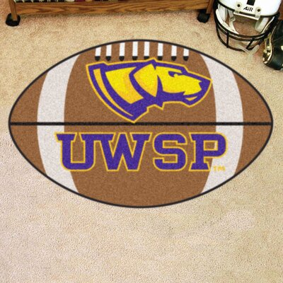 NCAA University Of Wisconsin-Stevens Point Football Mat