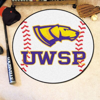 NCAA University Of Wisconsin-Stevens Point Baseball Mat