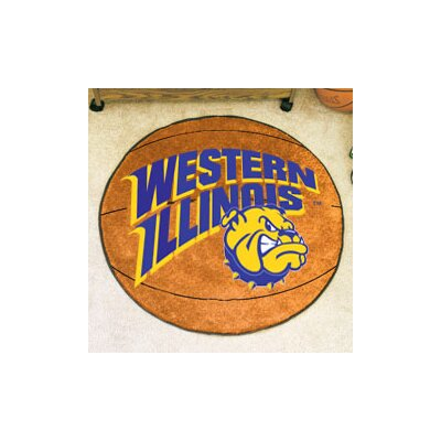 NCAA Western Illinois University Basketball Mat