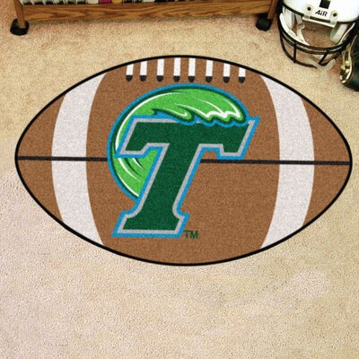 NCAA Tulane University Football Doormat