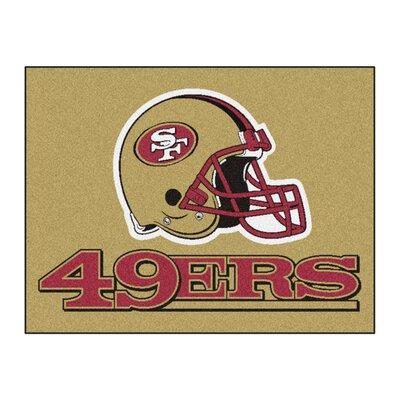 NFL - San Francisco 49ers Tailgater Doormat Mat Size: 210 x 38.5