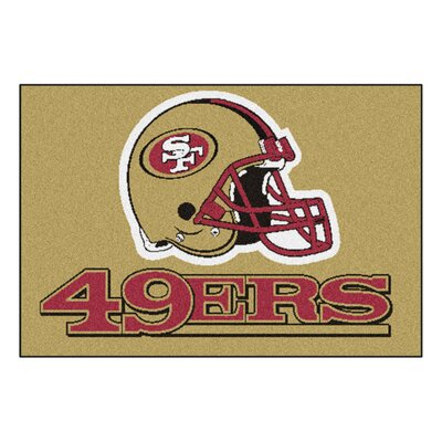 NFL - San Francisco 49ers Tailgater Doormat Rug Size: 18 x 26