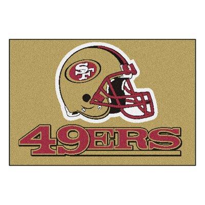 NFL - San Francisco 49ers Tailgater Doormat Mat Size: 18 x 26
