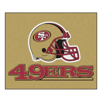 NFL - San Francisco 49ers Tailgater Doormat Rug Size: 5' x 6'