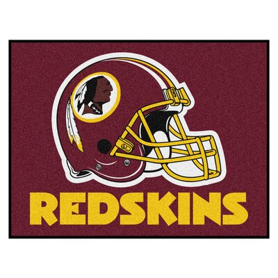 NFL - Washington Redskins Doormat Mat Size: 210 x 38.5