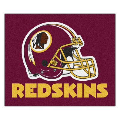 NFL - Washington Redskins Doormat Rug Size: 5 x 6