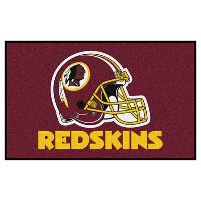 NFL - Washington Redskins Doormat Mat Size: 5 x 8