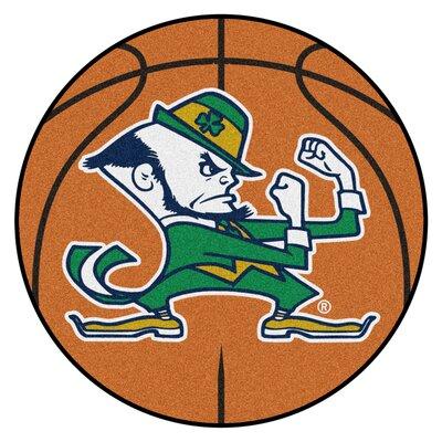 NCAA Notre Dame Basketball Mat