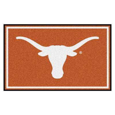 NCAA University of Texas Rug Rug Size: 310 x 6