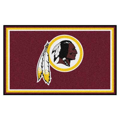 NFL - Washington Redskins 5x8 Rug Mat Size: 4 x 6