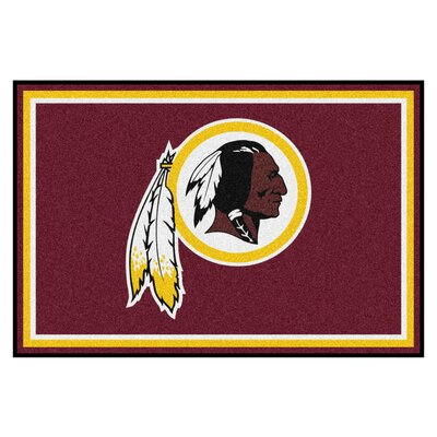 NFL - Washington Redskins 5x8 Rug Rug Size: 5 x 8